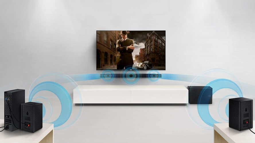 Convertir barra de sonido en home cinema