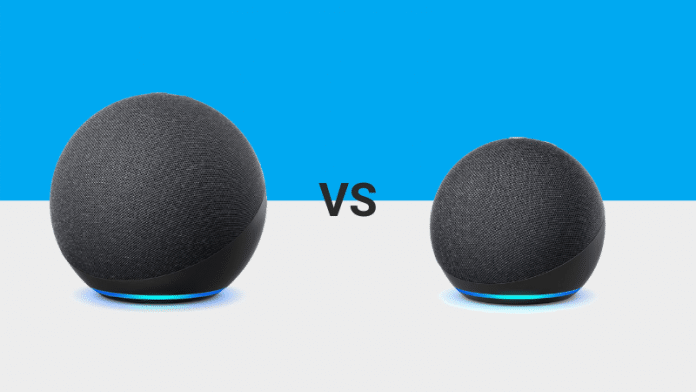 Amazon Echo VS Echo Dot